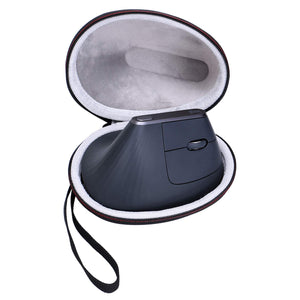 LTGEM EVA Hard Case for Logitech MX Vertical Advanced Ergonomic Mouse - Travel Protective Carrying Storage Bag