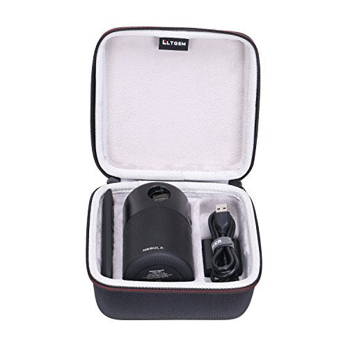 LTGEM EVA Hard Case for Nebula Capsule Smart Mini Projector - Travel Protective Carrying Storage Bag