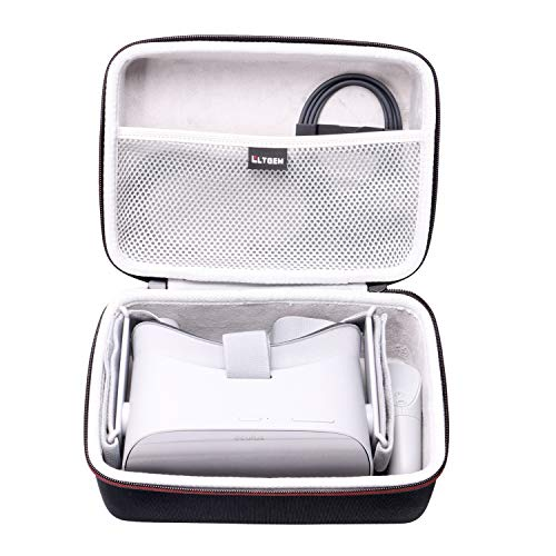 LTGEM EVA Hard Case for Oculus Go Standalone Virtual Reality Headset - Travel Protective Carrying Storage Bag