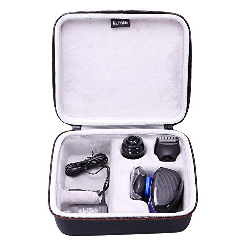 LTGEM Hard Case for Remington XR1400 Verso Wet & Dry Men's Electric Razor Shaver & Trimmer Grooming Kit