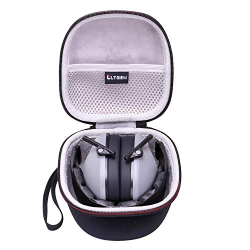 LTGEM EVA Hard Carrying Case for Pro For Sho 34dB Shooting Ear Protection Ear Muffs