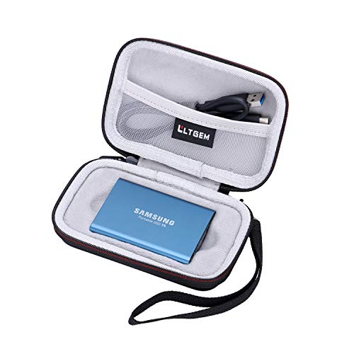 LTGEM Case for Samsung T5/T3/T1 Portable 250GB 500GB 1TB 2TB SSD USB 3.0 External Solid State Drives