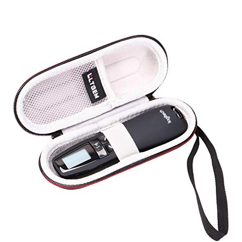 LTGEM Hard Protective Carrying Case for Logitech Professional Presenter R800, Presentation Wireless Presenter
