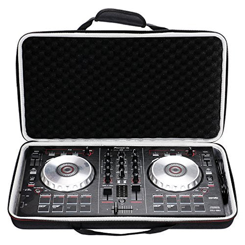 LTGEM Case for Pioneer DJ DDJ-SB3 / DDJ-SB2 Portable 2-channel Controller or DDJ-SB Performance DJ Controller-Black
