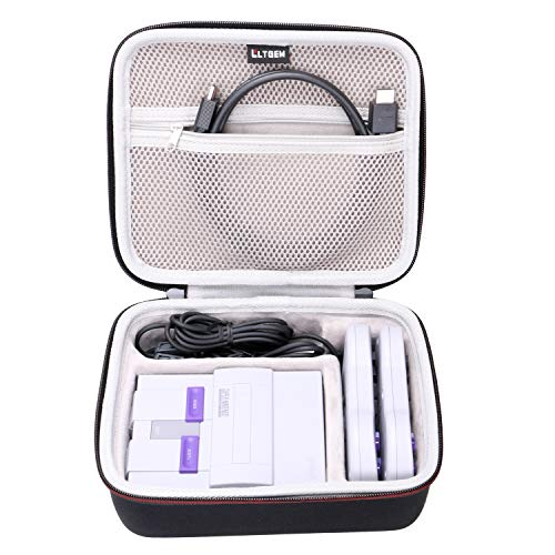 LTGEM EVA Hard Carrying Case for Super Nintendo NES Classic Edition System