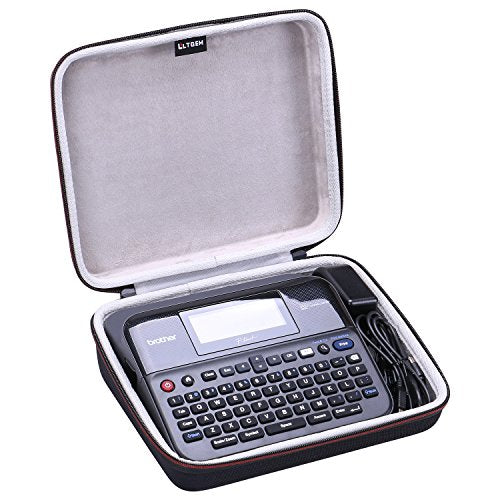 LTGEM EVA Hard Case for Brother P-Touch PTD600 PC Connectible Label Maker - Travel Protective Carrying Storage Bag