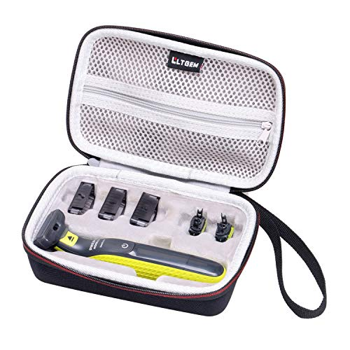LTGEM Hard Travel Case for Philips Norelco OneBlade Hybrid Electric Trimmer and Shaver, FFP, QP2520/90 QP2520/70