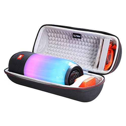 LTGEM EVA Hard Case for JBL Pulse 3 Wireless Bluetooth IPX7 Waterproof Speaker - Travel Protective Carrying Storage Bag