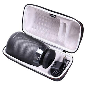 LTGEM EVA Hard Case Fits Harman Kardon Allure Portable Portable Alexa Voice Activated Speaker - Travel Protective Carrying Storage Bag