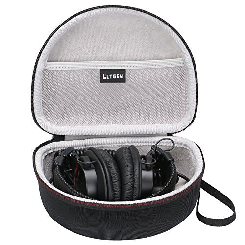 LTGEM Hard Carrying Case for Sony MDRV6 Studio Monitor Headphones