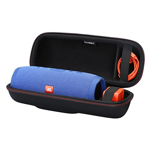 LTGEM EVA Hard Case for JBL Charge 3 Waterproof Portable Bluetooth Speaker - Travel Protective Carrying Storage Bag Fits USB Cable and Charger.