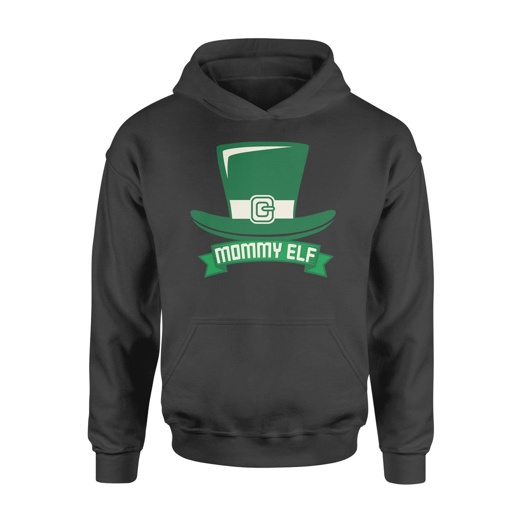 Pemola - Mommy Elf Hoodie, hoodies for women, cool hoodies, graphic hoodies