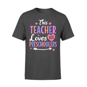 Pemola, Teacher love her Preschoolers shirts, valentines day shirts for teachers, cute shirts