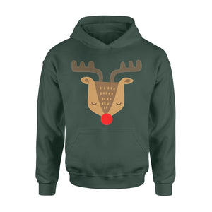 Pemola - Reindeer Christmas Hoodie, hoodies for men, hoodies for women, cool hoodies, graphic hoodies