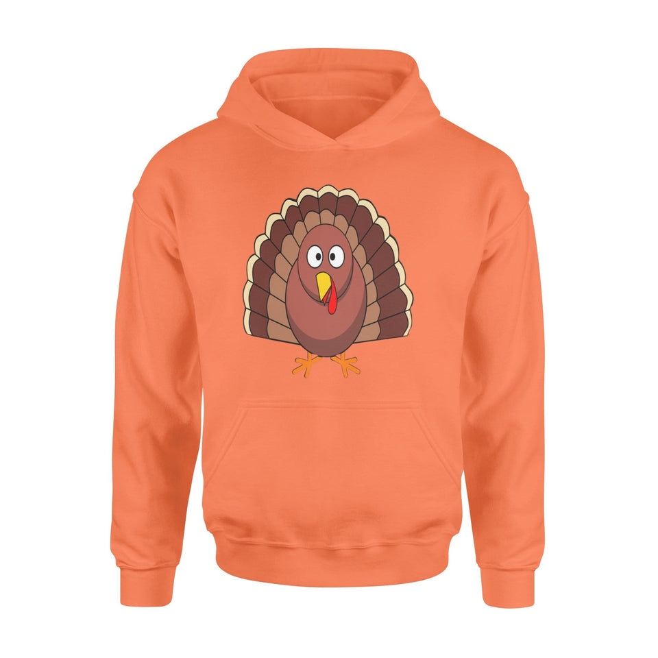 Pemola - Turkey Happy Thanksgiving Hoodie, hoodies for men, hoodies for women
