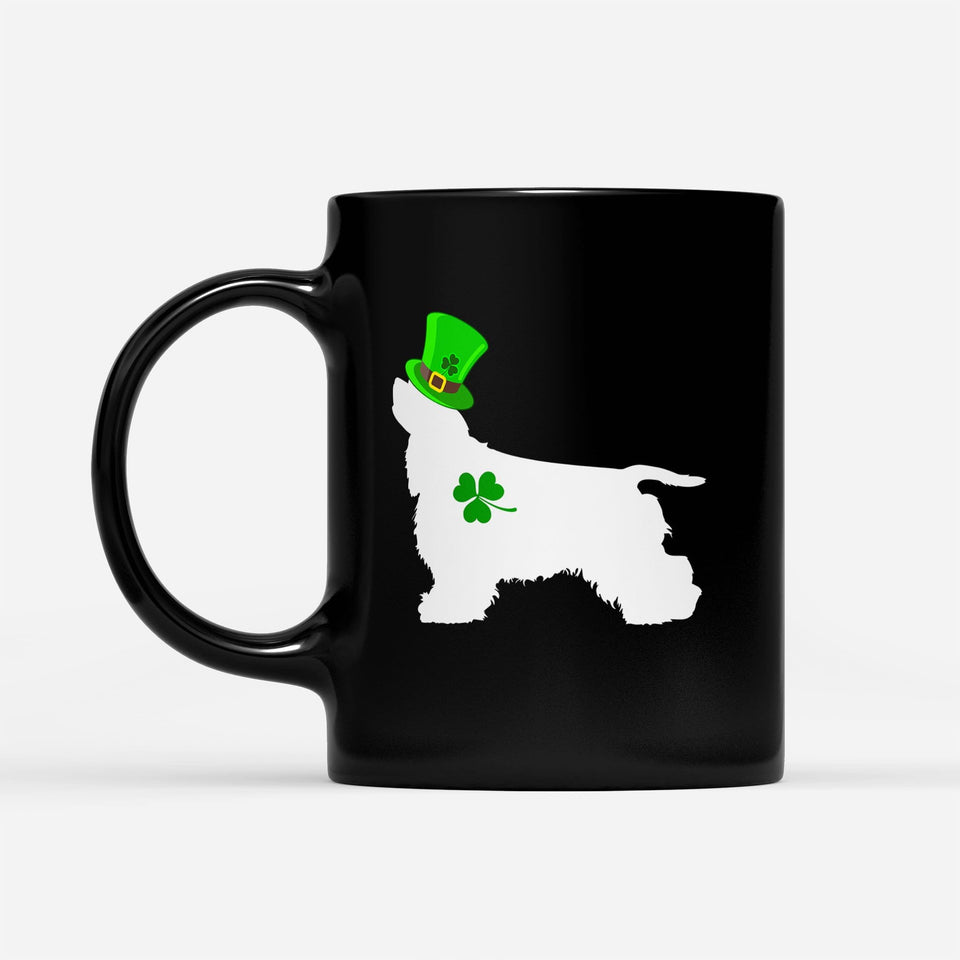 Pemola, Cocker Spaniel Mug, Dog Mug, Gifts For Dog Lovers, St Patrick's Day 2020, Cocker Spaniel Gifts, Black Coffee Mug