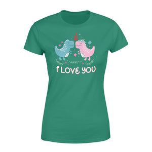 Pemola, Love You Dinosaur Shirt, valentine shirts, valentines day gifts, valentines day gifts for her, dinosaur shirts