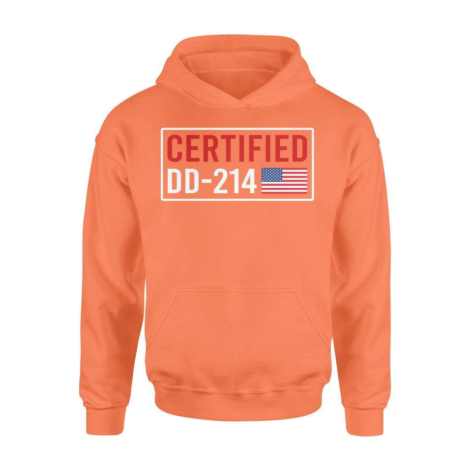 Pemola - Certified DD-214 Hoodie, hoodies for men, cool hoodies, graphic hoodies
