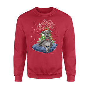 Pemola, Greyhound Dogs Christmas Sweatshirts, Sweatshirt