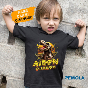 Pemola, matching family shirts, dinosaur designs, personalized shirts, boys dinosaur shirt, gifts under $30