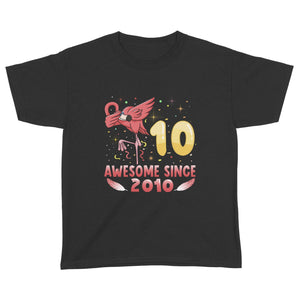 Pemola - Flamingo t-shirt, birthday gift, gifts for 10 year old boys, youth tshirts