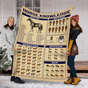 Pemola - Horse quotes Fleece Blanket, Horse saying blanket, horseback riding blanket for horse lovers.