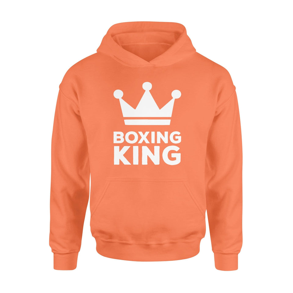 Pemola - Boxing King Hoodie, hoodies for men, cool hoodies, graphic hoodies
