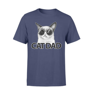 Pemola - Cat Dad T-shirt, t shirts for men, graphic tees, funny t shirts, cool t shirt, dad t shirts