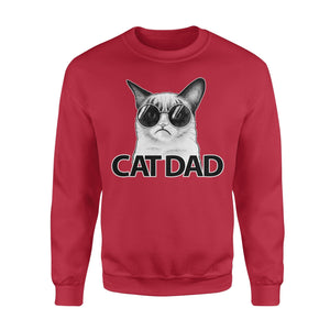 Pemola, Cat Dad Sweatshirts, Sweatshirt