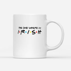 Pemola, irish mug, coffee mug, st patrick's day coffee mug, St. Patrick's Day Gift, funny coffee mugs, cute mugs