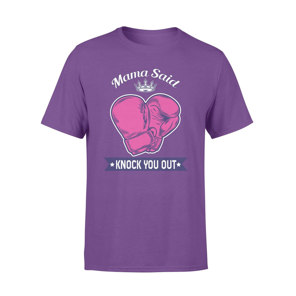 Pemola - Mama Boxing T Shirt, Quotes Shirts, Boxing Shirt