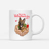 Pemola - German Shepherd Mug, Valentines Day Mug, Funny Mug for Valentines Day