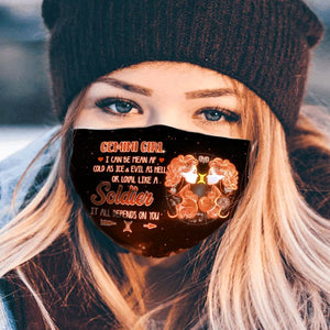Pemola Gemini Cloth Face Masks, Horoscope Cloth Face Covers, Zodiac Signs Face Coverings