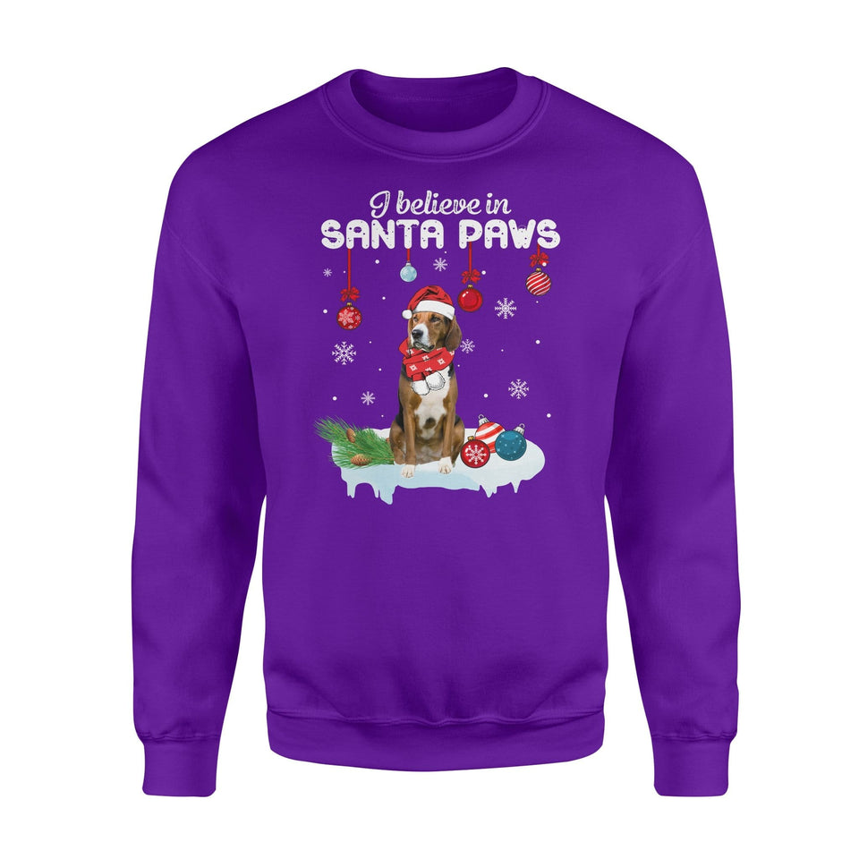 Pemola, American Foxhound Dog Christmas Sweatshirts, Sweatshirt