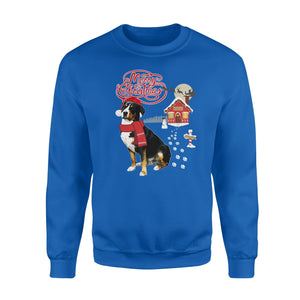 Pemola, Greater Swiss Moutain Christmas Sweatshirts, Sweatshirt
