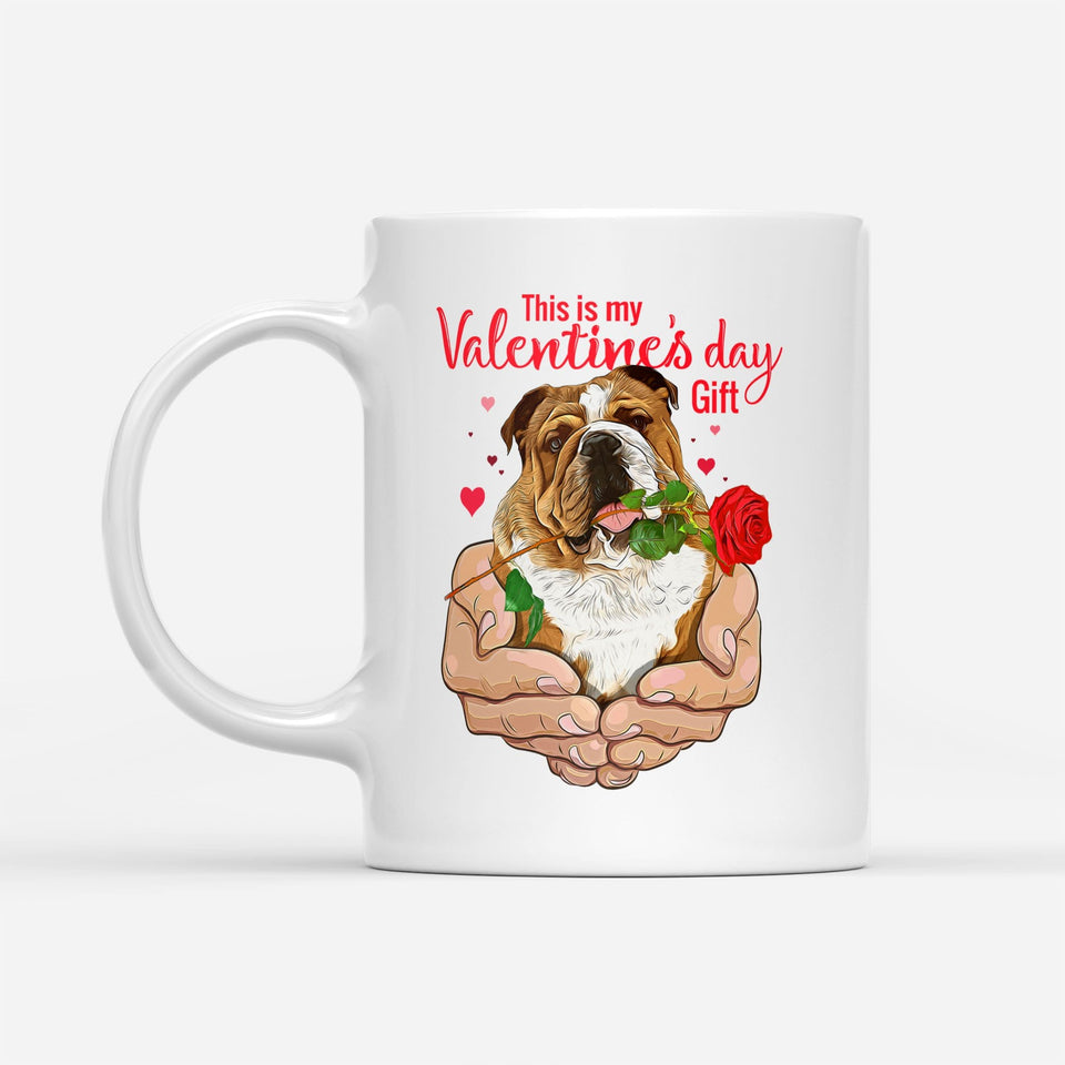 Pemola - French Bulldog valentine Mugs, Valentines Day Mugs Gifts