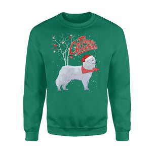 Pemola, Great Pyrenees Dogs Christmas Sweatshirts, Sweatshirt