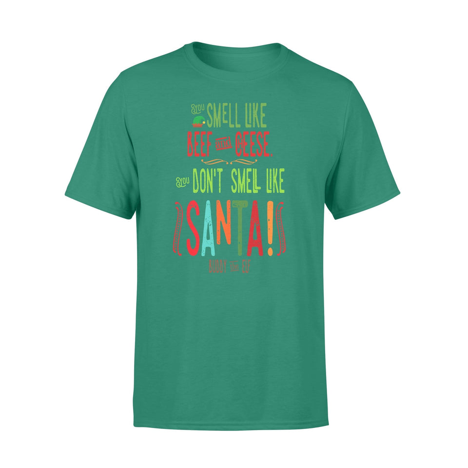 Pemola - Santa Claus Christmas T-shirt, graphic tees, funny t shirts, cool t shirt, cute shirts