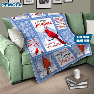 Pemola, I can only imagine Fleece Blanket, personalized fathers day gifts, custom fleece blankets, memorial gifts, missing dad