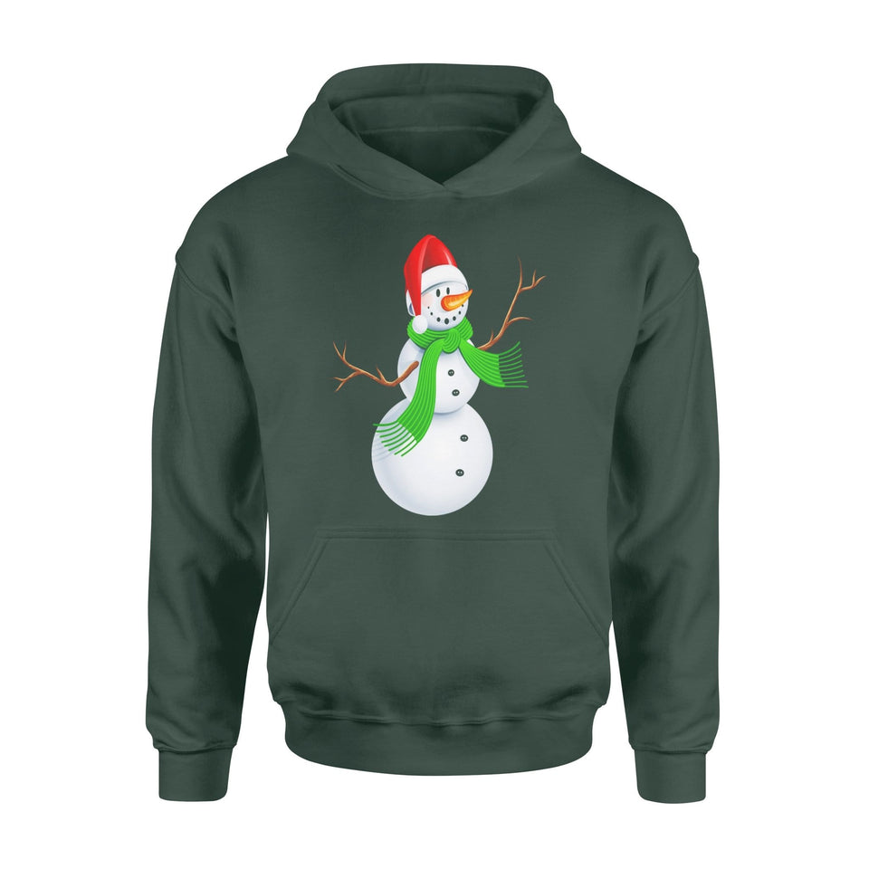 Pemola - Snow man Christmas Hoodie, hoodies for men, cool hoodies, graphic hoodies