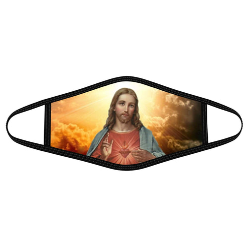 Pemola My Saviour Cloth Face Masks, Jesus Face Coverings, Christian Cloth Face Covers