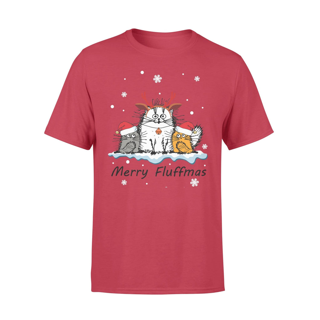 Pemola - Mery Fluffmas Christmas T-shirt, graphic tees, funny t shirts, cool t shirt, cute shirts