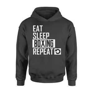 Pemola - Boxing Repeat Hoodie, hoodies for men, cool hoodies, graphic hoodies