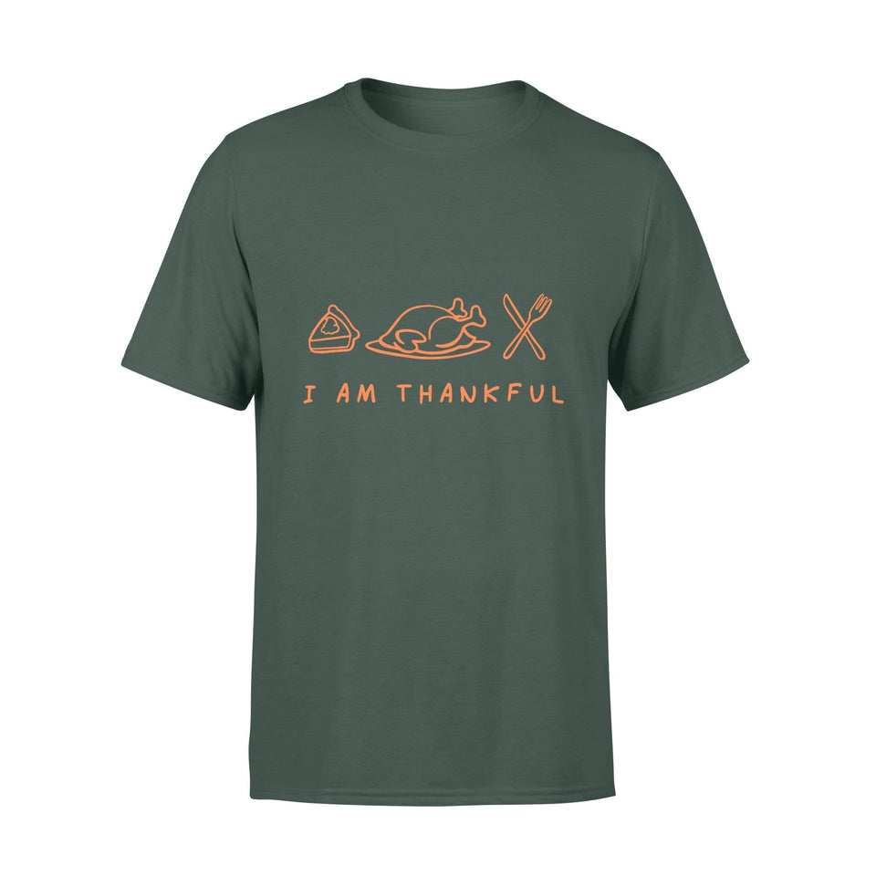 Pemola - I Am Thankful T-shirt, graphic tees, funny t shirts, cool t shirt