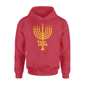 Pemola - Hanukkah Keep Shining Hoodie, hoodies for men, hoodies for women, cool hoodies