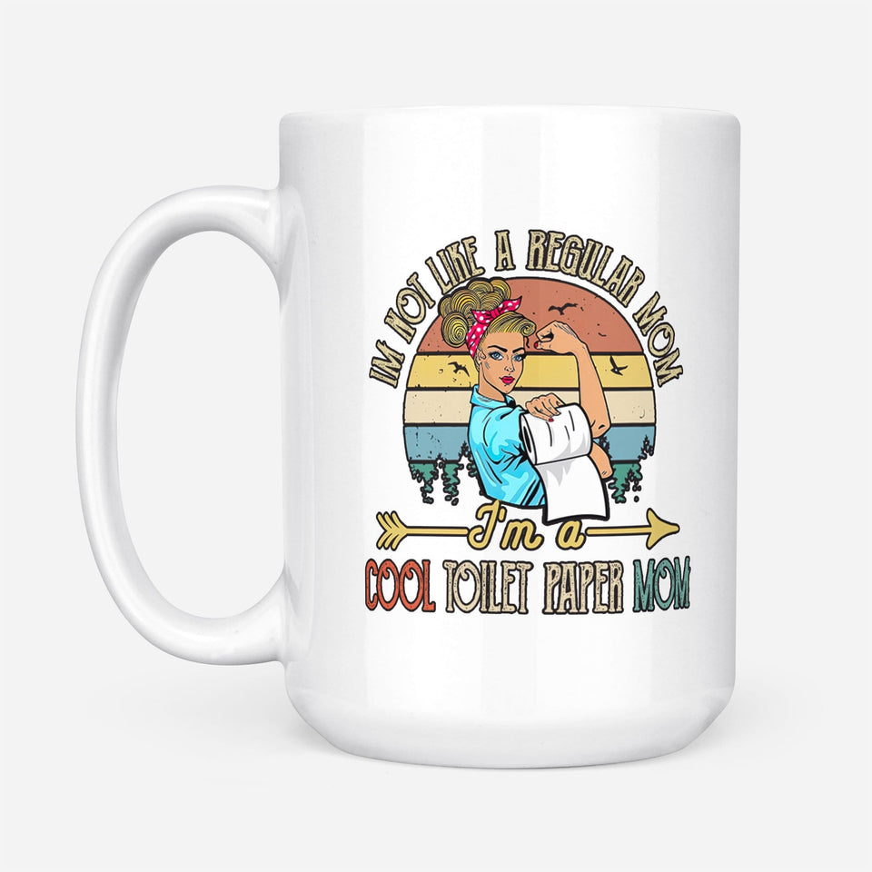 Cool Mom Mug, Regular Mom mug, mothers day gifts, birthday gifts for mom,  best friend birthday gifts