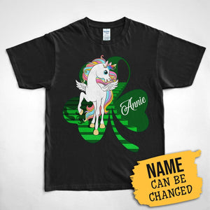 Pemola, Unicorn Shirt For Womens, Personalized T shirts, st. patricks day shirts, st patricks day graphic tee