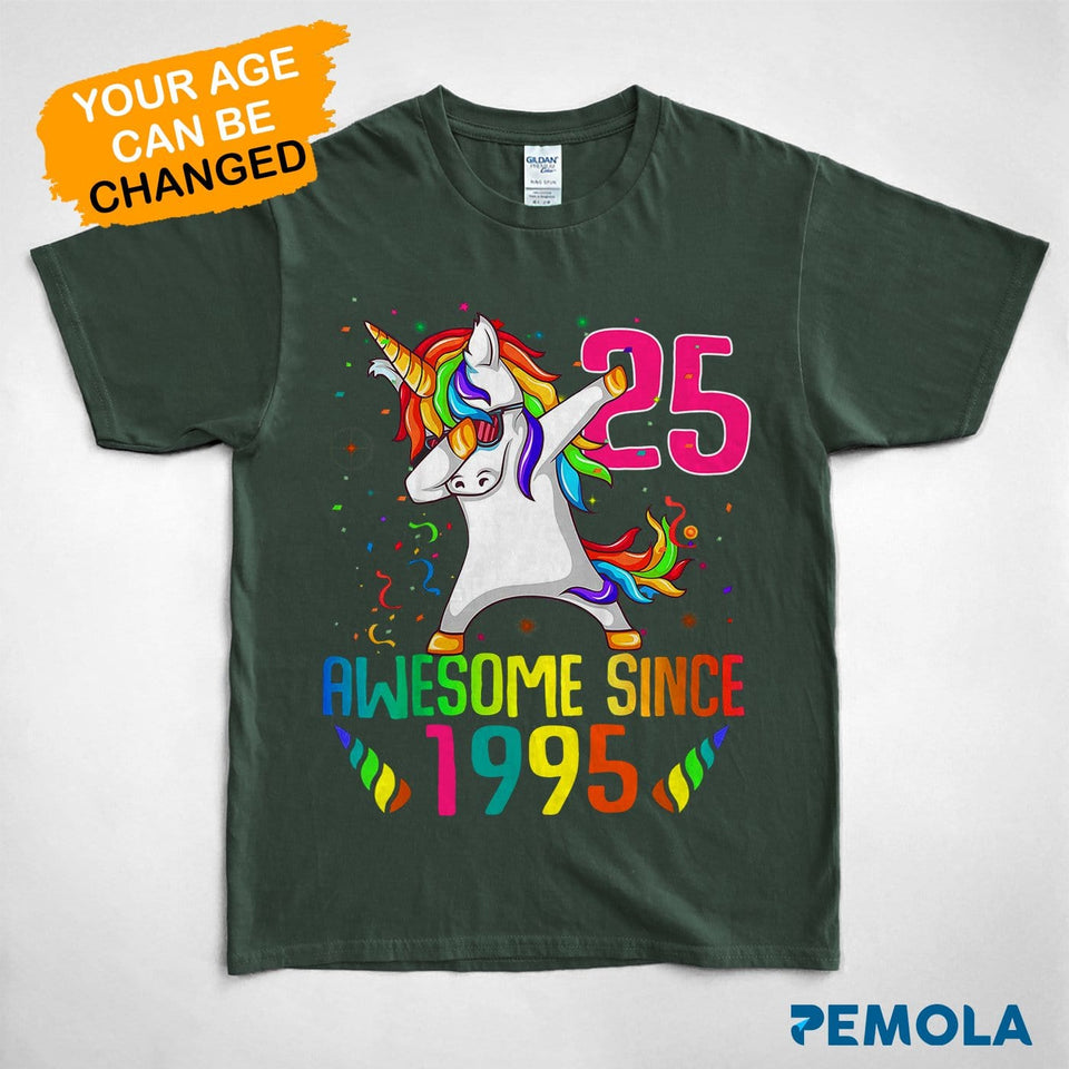 Pemola, personalized birthday gifts, women unicorn birthday shirt, gifts for womens, unicorn t shirt, shirts for womens