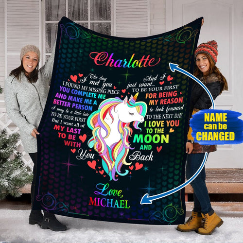Pemola, Unicorn Blankets, Valentines Day Gifts, Valentines Day Gift Ideas, Unicorn Custom Blankets, Unicorn Personalized Blankets