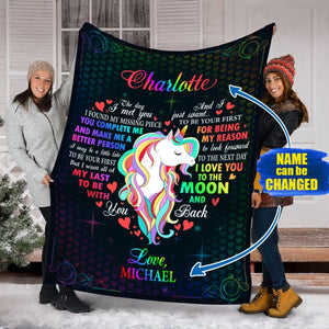 Pemola, Unicorn Blankets, Valentines Day Gifts, Valentines Day Ideas, Custom Blankets, Personalized Gifts, Personalized Blankets